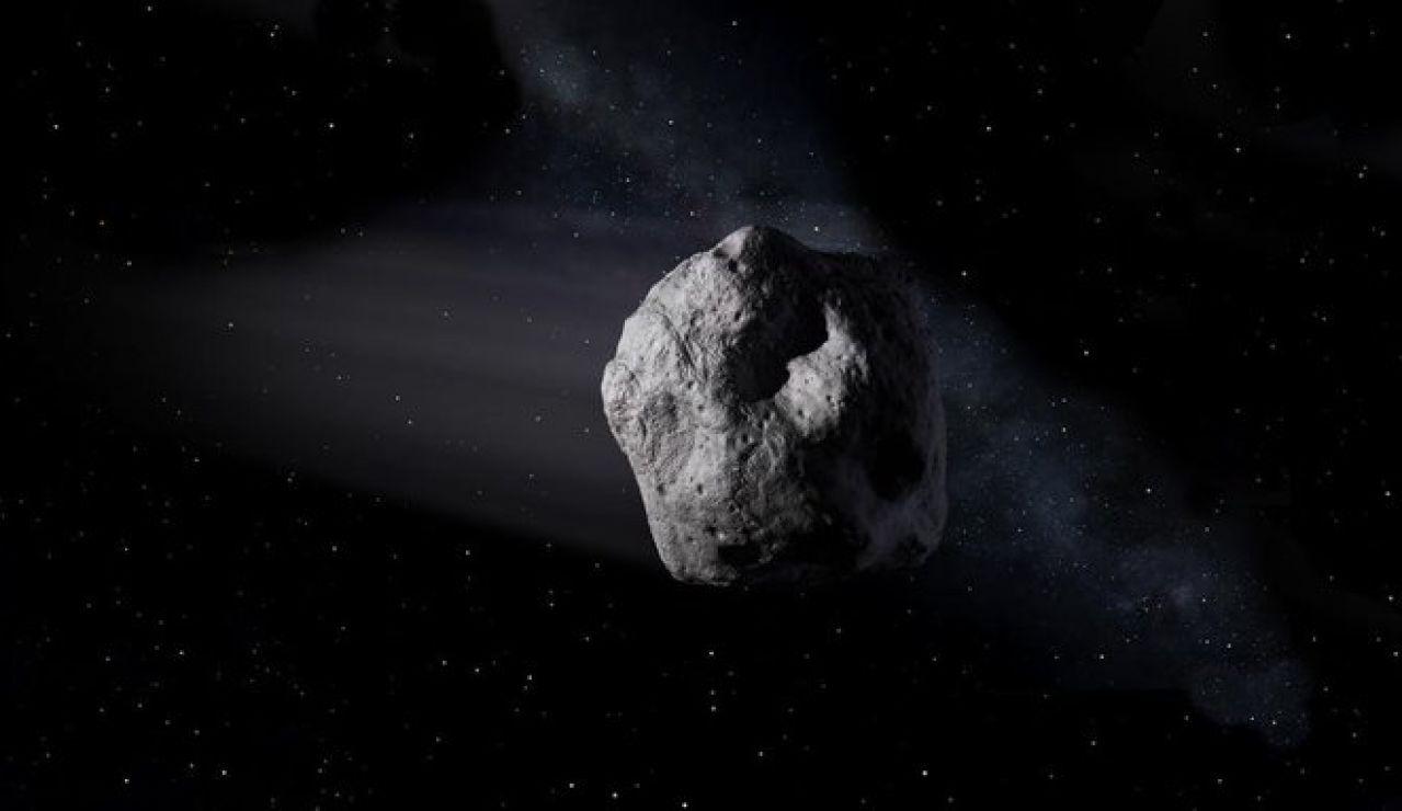 Imagen de un asteroide difundida por la NASA
