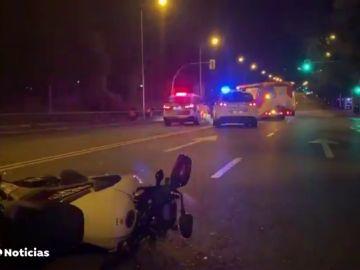 Las imágenes del accidente mortal del del actor Jordi Mestre con 38 años