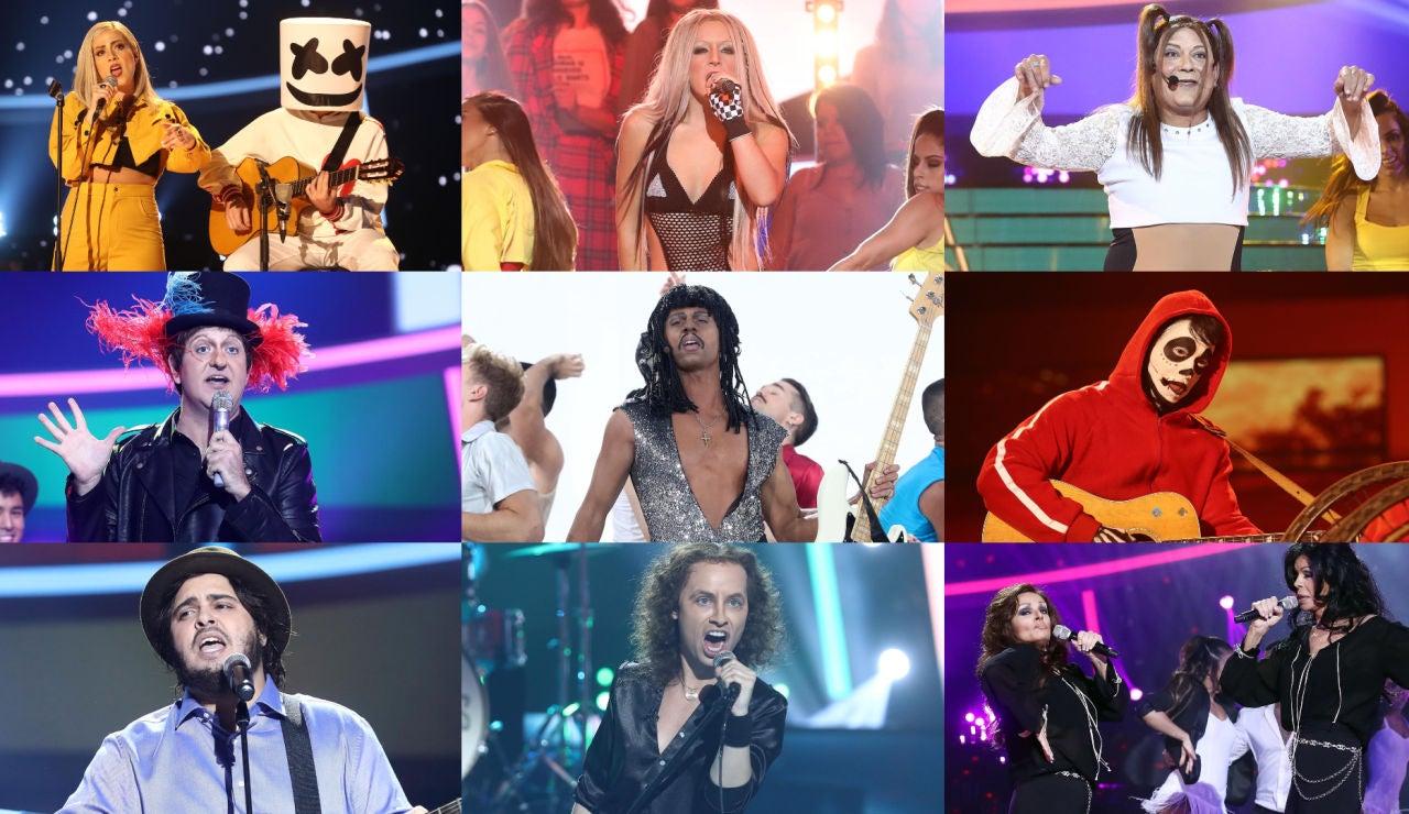 ¡Vota por la mejor actuación de la séptima gala de la séptima edición de 'Tu cara me suena'!