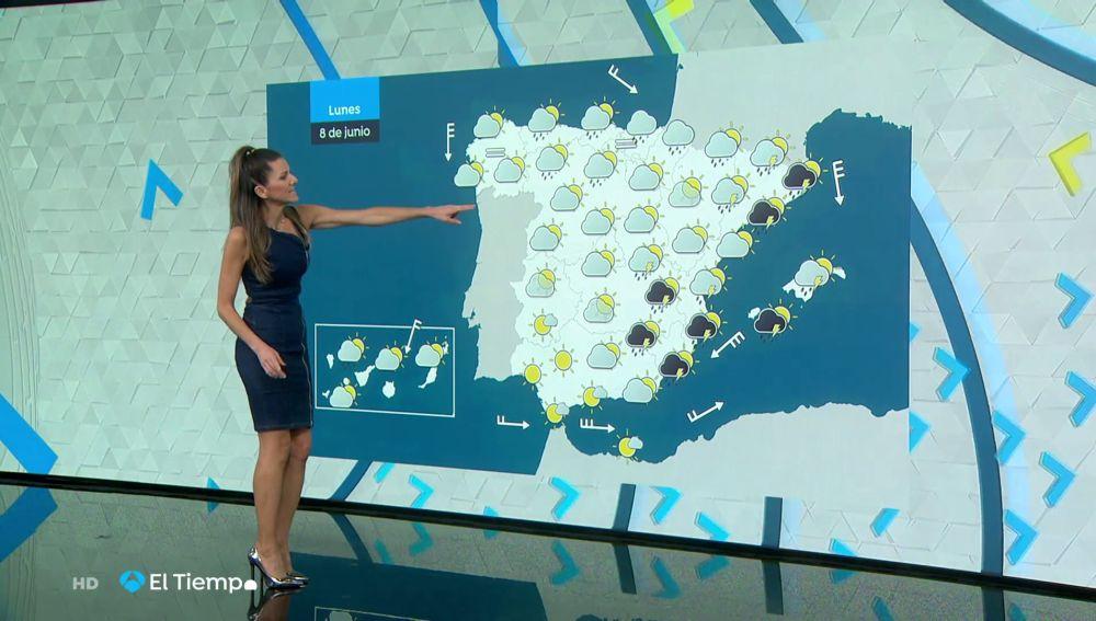 Tu Tiempo (07-06-20) Avisos por lluvia y tormentas y bajada de temperatura