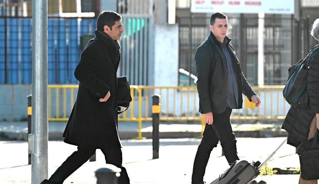 El mayor de los Mossos d'Esquadra Josep Lluís Trapero llega al juzgado de la Audiencia Nacional el pasado mes de febrero.