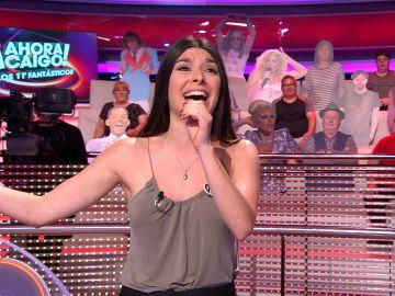 Clara concede una copla a Arturo Valls y le canta por Marifé de Triana en '¡Ahora caigo!'