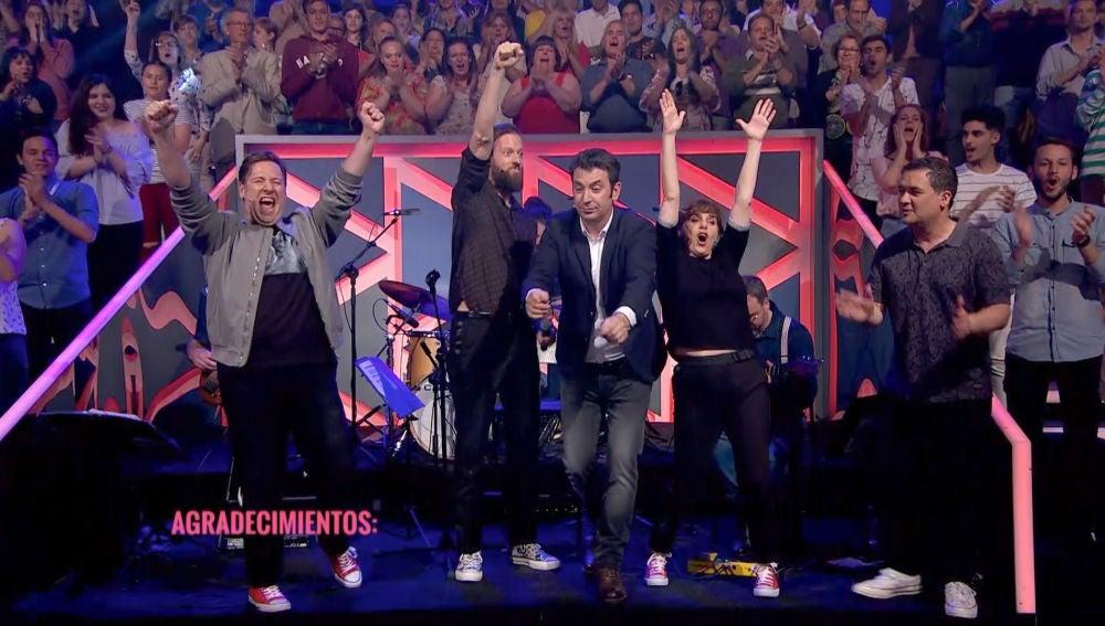¡Así es la canción de 'Improvisando' interpretada por Edu Soto y su gran banda!