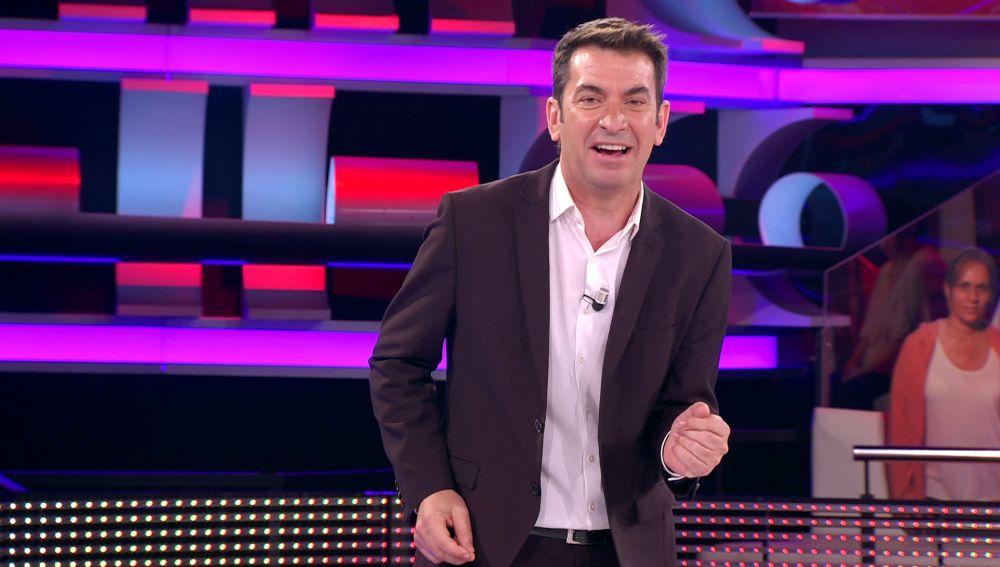 El show de kárate de Arturo Valls estilo Chiquito de la Calzada en '¡Ahora caigo!'
