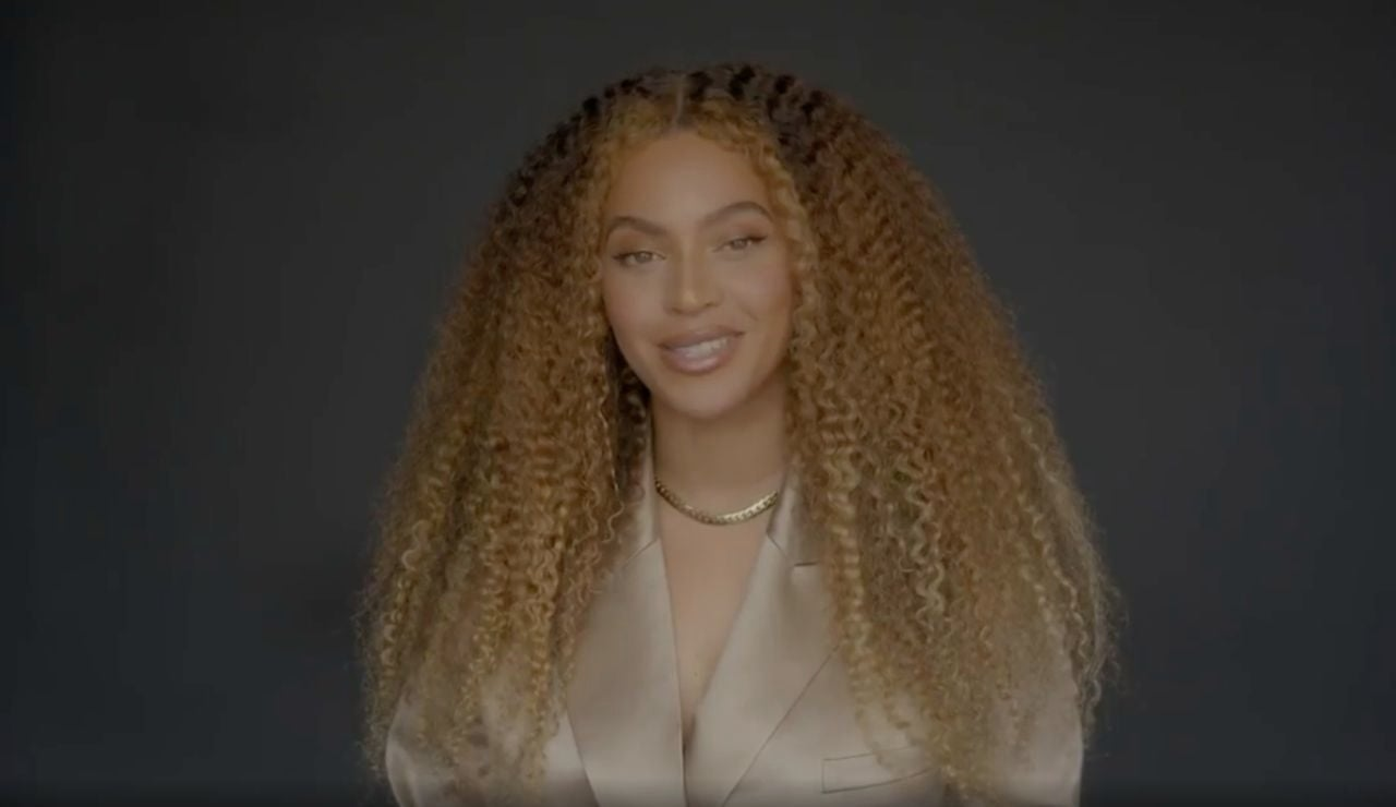 Captura del vídeo de Beyoncé en Instagram