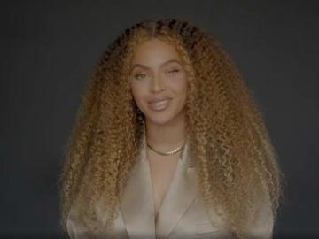 Captura del vídeo de Beyoncé en Instagram