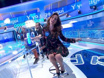 ¡Alucinante! Así ha sido la performance de Nerea Garmendia como Paulina Rubio por cinco segundos