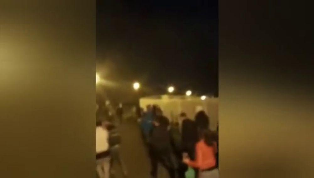 La Policía desaloja una fiesta con chupinazo a la que asistieron 200 jóvenes en en Mendillorri (Pamplona)