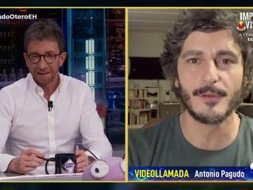 Antonio Pagudo desvela la extraña petición que aceptó para interpretar a Xabi, el protagonista de 'Benidorm'