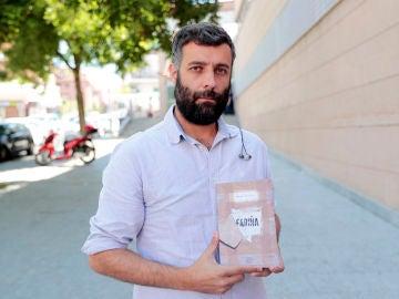 Nacho Carretero, escritor de 'Fariña'