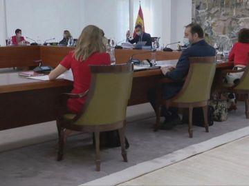 Consejo de Ministros presencial
