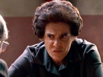 Benigna, indignada por el plan de Quintero para sacarla de la cárcel