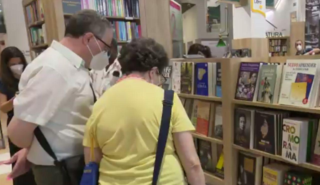 Librerías reabiertas en la crisis del coronavirus