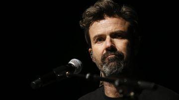 El cantante y líder de la banda española, Jarabe de Palo, Pau Donés.