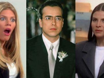 Lorna Cepeda, Natalia Ramírez y Jorge Enrique Abello en 'Yo soy Betty, la fea'