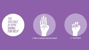 Señal de Ayuda para mujeres víctimas de violencia de género durante el coronavirus