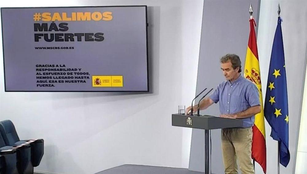 Fernando Simón, director del centro de Alertar y Emergencias