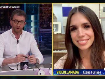 """Elena Furiase habla de la """"mamitis"""" desarrollada por su hijo durante el confinamiento"""