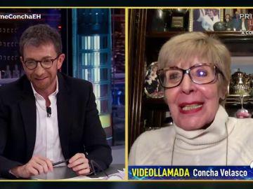 """El gran agradecimiento de Concha Velasco a Pablo Motos por llenar un teatro con su ayuda: """"Me hiciste un programa estupendo con tu madre"""""""