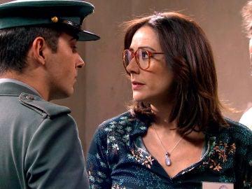 Cristina se rebela en la cárcel para proteger a Guillermo