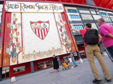 El Ramón Sánchez Pizjuán antes de la vuelta de LaLiga