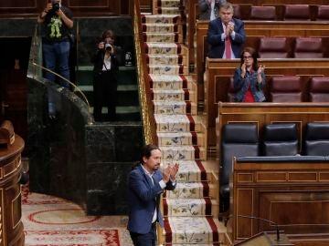 Iglesias, aplaudido en el Congreso