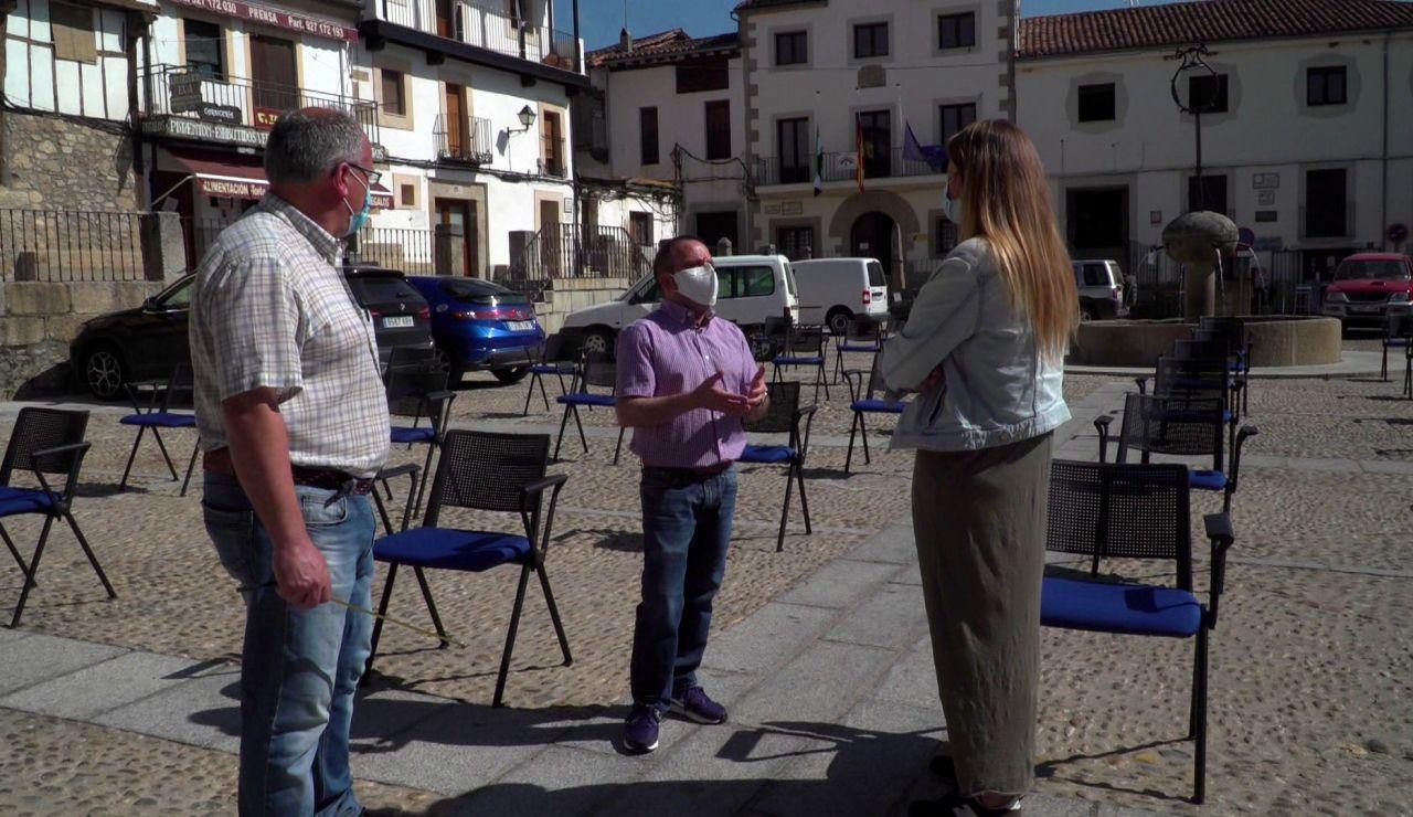 Así son las fiestas de un pueblo de Cáceres adaptadas a la nueva realidad del coronavirus