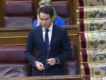 """Rifirrafe entre Pablo Iglesias y Teodoro García Egea: """"Usted es un pésimo vicepresidente pero un buen amigo"""""""