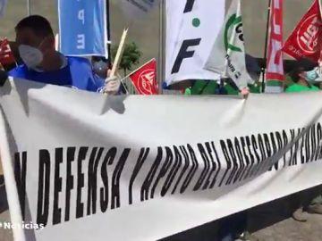Protestas en Extremadura contra el reparto de los 2.000 millones de euros de Educación a las comunidades autónomas