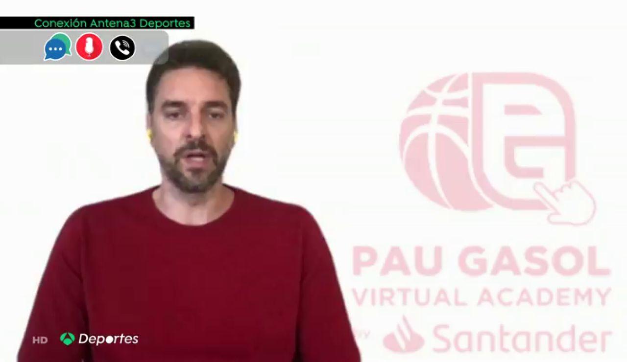 """Pau Gasol, en exclusiva con Antena 3 Noticias sobre la violencia tras la muerte de George Floyd: """"No lo justifico, pero lo puedo llegar a comprender"""""""