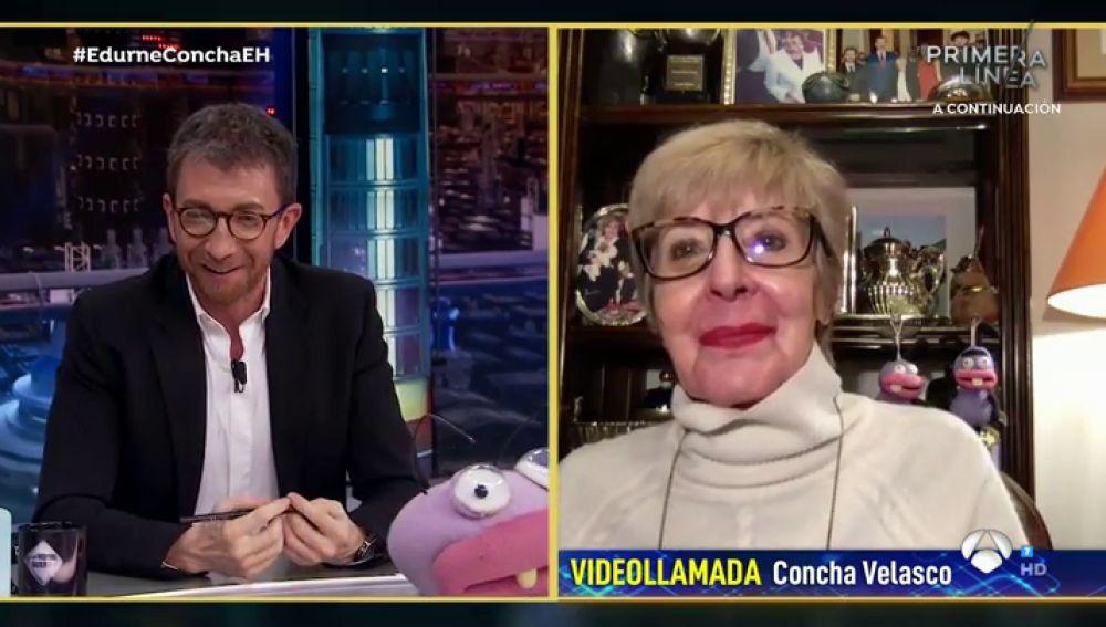 """""""¿Me pusiste los cuernos anoche?"""", Pablo Motos atónito con la confesión de Concha Velasco"""