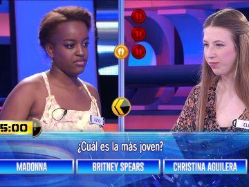 Madonna, Britney Spears y Christina Aguilera, un 'Entre tres' de divas del pop en '¡Ahora caigo!'