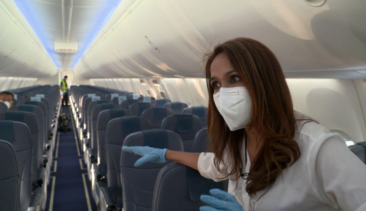 """""""Tranquilos a la hora de volar"""": los grandes cambios para estar seguros a la hora de volver a montarnos en un avión"""