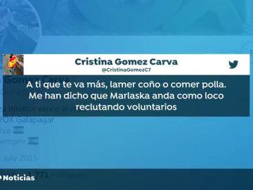 """Vox expedienta a una edil de Galapagar por escribir que a Fernando Grande-Marlaska """"le ponen los niñitos jovencitos"""""""