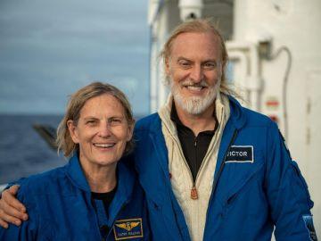 La astronauta Kathy Sullivan, la primera persona que visita el espacio y el punto más profundo de la Tierra