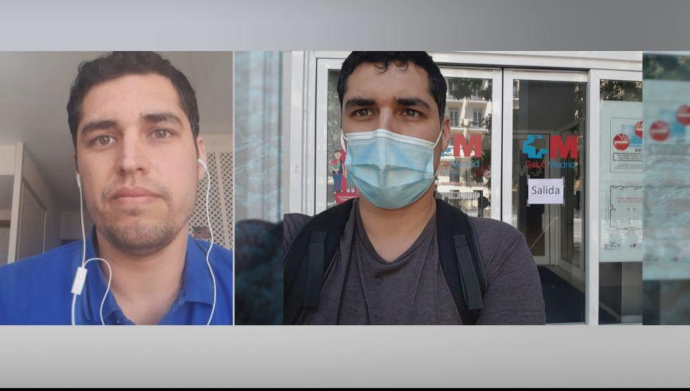 Carlos, de periodista a enfermero.