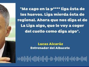 Lucas Alcaraz, entrenador del Albacete
