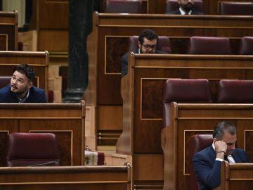 """Nueva bronca entre ERC y Vox que ha llamado """"golpistas"""" a los republicanos"""