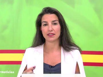Rocío Monasterio cree que el Ingreso Mínimo Vital tiene efecto llamada a la inmigración
