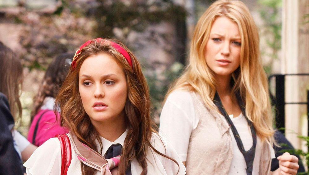 Leighton Meester y Blake Lively como Serena y Blaire en 'Gossip Girl'