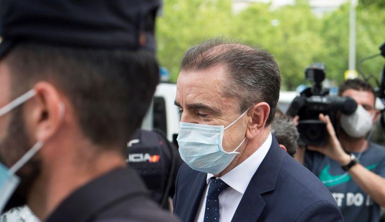 José Manuel Franco sale de los juzgados tras declarar ante la jueza