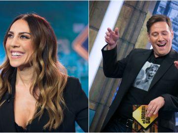 Carlos Latre y Mónica Naranjo, la guinda el jueves a una semana estelar en 'El Hormiguero 3.0'