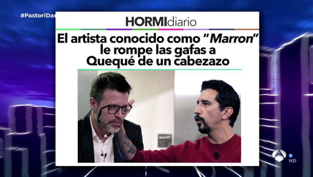 Trancas y Barrancas ponen en duda noticias terribles sobre los colaboradores: ¿Le ha roto Marron las gafas a Quequé de un cabezazo?