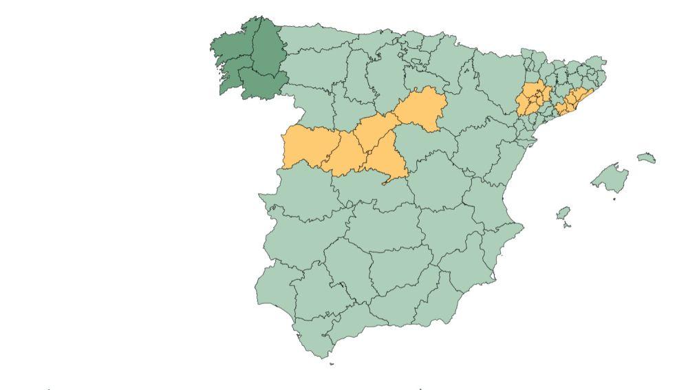 Comunidades y provincias que pasan a fase 3 de la desescalada y la nueva normalidad