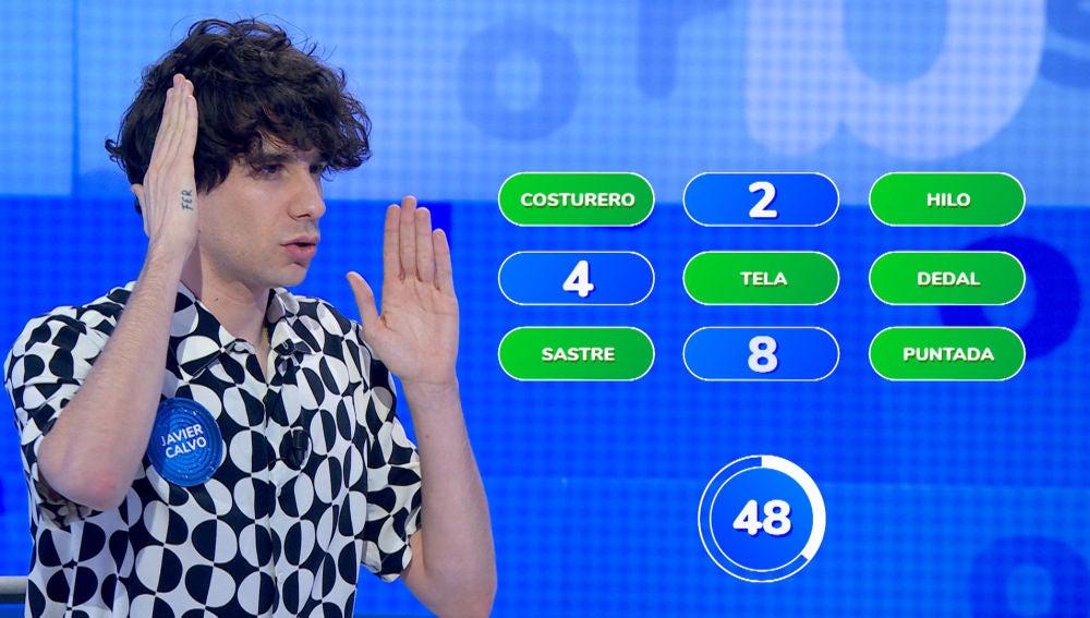 """""""¡Hasta luego, Mari Carmen!"""", Roberto Leal se rinde ante la espectacular jugada de Javier Calvo en '¿Dónde están?'"""
