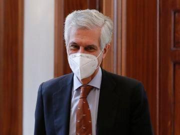 El diputado del PP y secretario cuarto de la Mesa del Congreso, Adolfo Suárez Illana