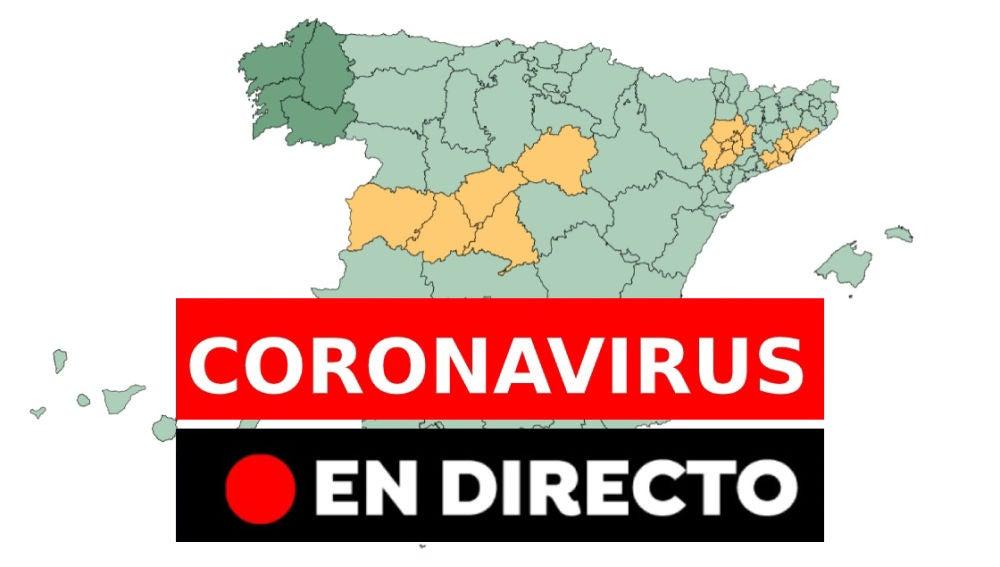 Coronavirus: Provincias que pasan a la fase 3 de la desescalada, nueva normalidad y última hora, en directo