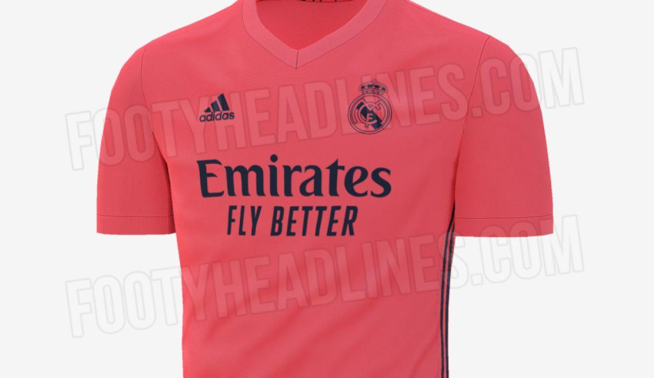 Así sería la segunda equipación del Real Madrid la próxima temporada