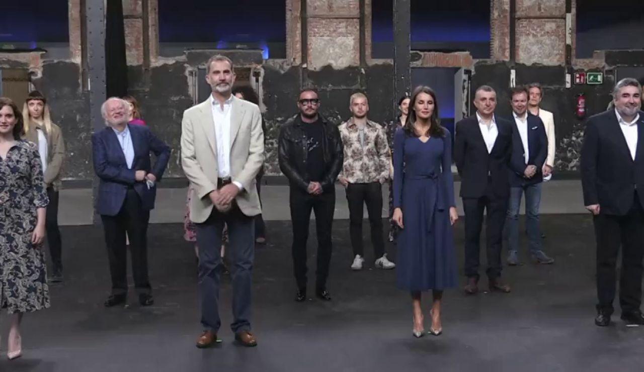 Los Reyes recuerdan a Pau Donés y Rosa María Sardà