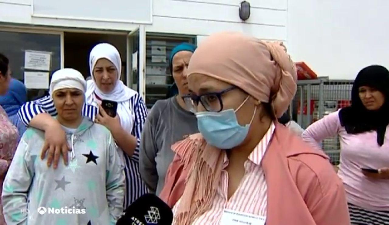 Más de 7.200 temporeras marroquíes en Huelva piden una solución para volver a su país